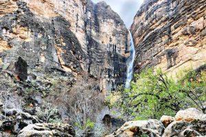 آبشار تارم نی ریز